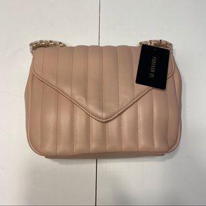NWT Pink Chain Strap Shoulder Bag Purse Adjustable